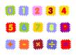 puzzle foam números