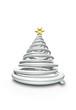 Christmas Baum Chrom