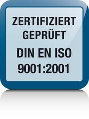 DIN EN ISO 9001:2001 Zertifizierung