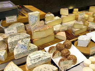 Cheeses market