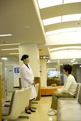 病院ロビー