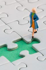 Woman puzzle