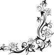 Ranke, Blumen, Rosen, florale Kunst
