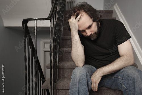 Depressed adult male