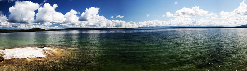 Yellowstone lake, Wyoming USA ©2009 Gecophotography
