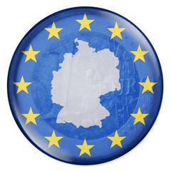 3D-Button - Eurozone - Deutschland