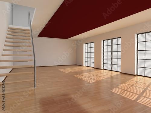 Raum treppe von tm design lizenzfreies foto 16332762 for Raumtreppe