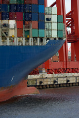 Containerschiff, Export