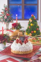 クリスマスイメージ, ディナー