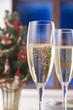 クリスマスイメージ, シャンパン