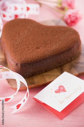 バレンタインイメージ, チョコレートケーキ