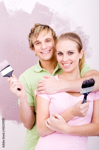renovating couple