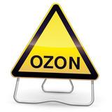 Panel of danger ozon (tripod) poster