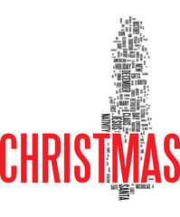 Xmass - Christmas word cloud