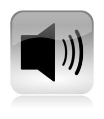 Audio Volume glossy icon