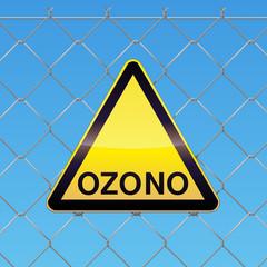 El panel de peligro ozono