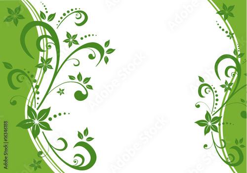 Retro Blumenmuster Hintergrund