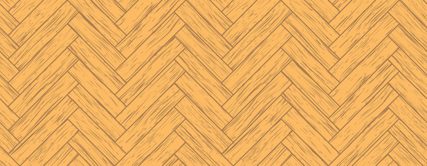 parquet, all the planks are different