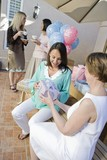 Woman at a Baby Shower