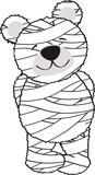 teddy mummy poster