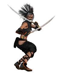 Female Fantasy Ninja - standing