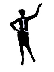 Business Office Illustration Silhouette