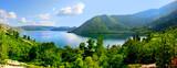 Fototapeta jezioro - pejzaż - Dziki pejzaż