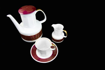 Traditional tea porcelain set