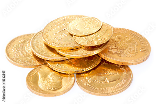 Old gold coins - 16362547