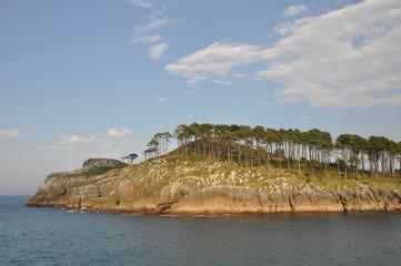 Isla en Lekeitio