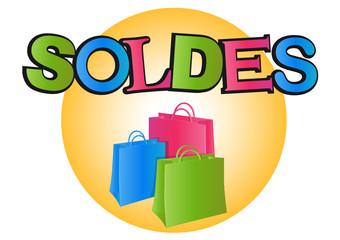 Logo soldes