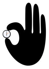 hand and time