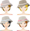 Set Fashion Hat