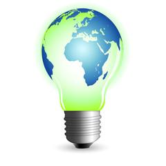 world bulb