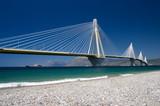cable stayed bridge, Greece - Fine Art prints