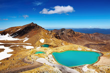 "Постер, картина, фотообои ""Emerald Lakes, New Zealand"""