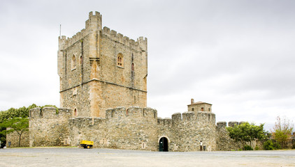 Torre da Menagem, citadela of Braganca, Portugal