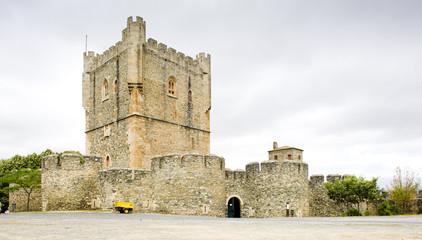 Torre da Menagem, citadela of Braganca, Portugal