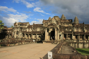 Angkor Vat,gopura ouest