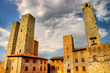 San Gimignano - beautiful medieval town of Tuscany (Italy)