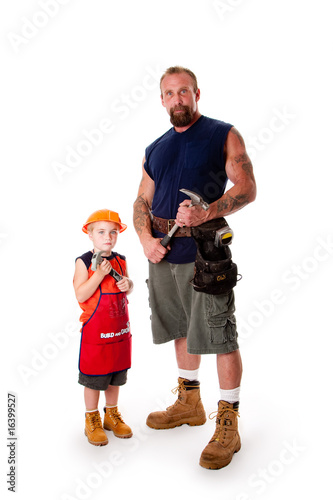 Father and son Carpenter
