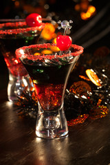 Halloween drinks - Devil's Blood Cocktail