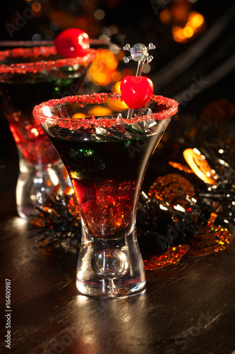 Halloween drinks - Devil's Blood Cocktail