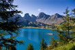 Le Lac d'Allos dans le Parc Naturel du Mercantour