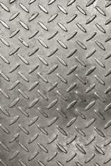 Ridged metal cover