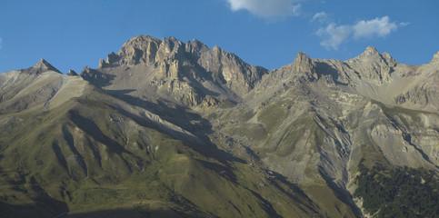 Panorama delle alpi