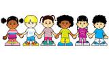 Fototapety Children of the world holding hands