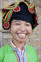 Portrait asiatische Frau Thai Dam, Laos