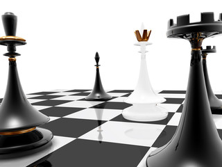 chess: checkmate