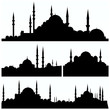 arabesque city silhouettes